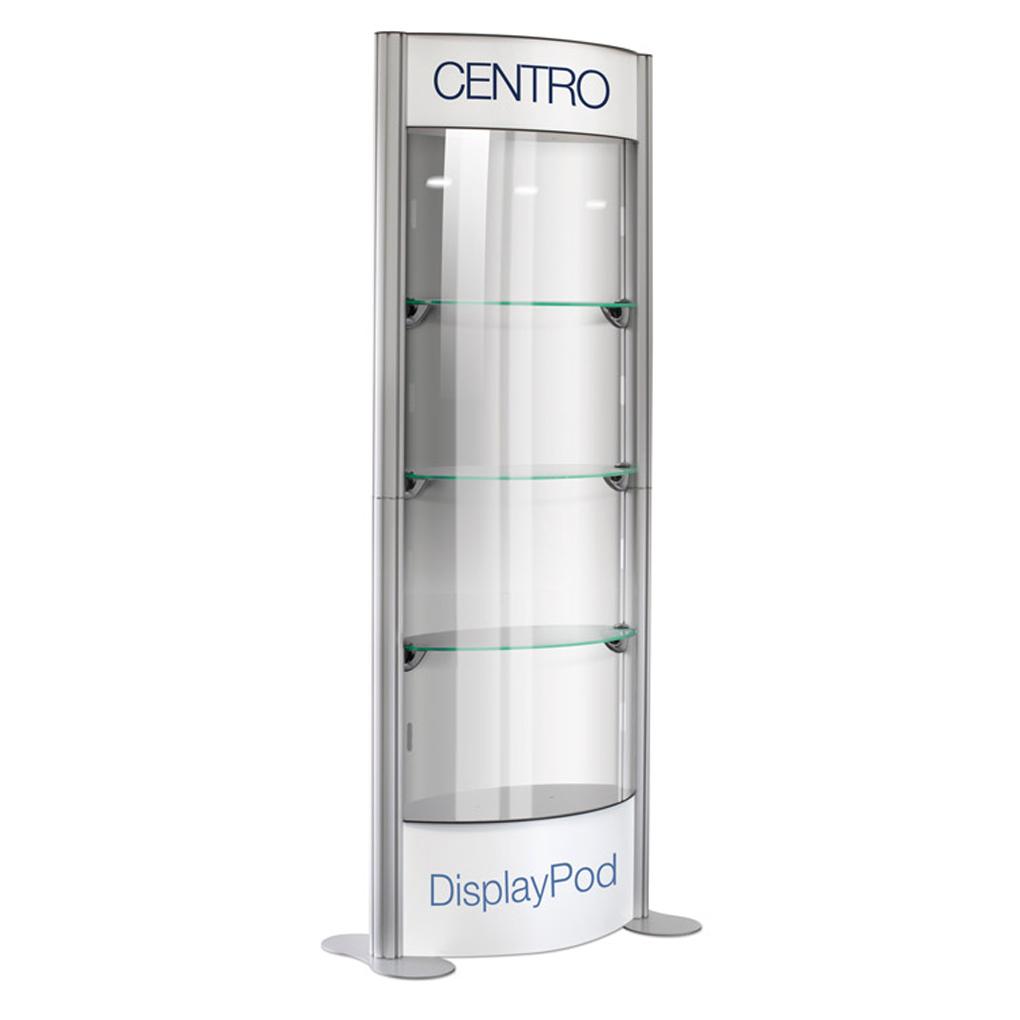 Portable Exhibition Cabinet : Centro modular torque display